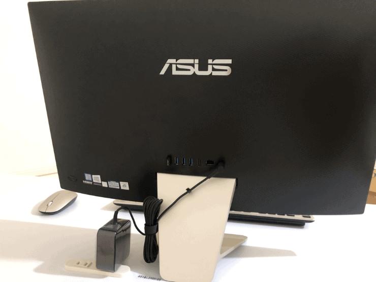 ASUS一体型PC裏面