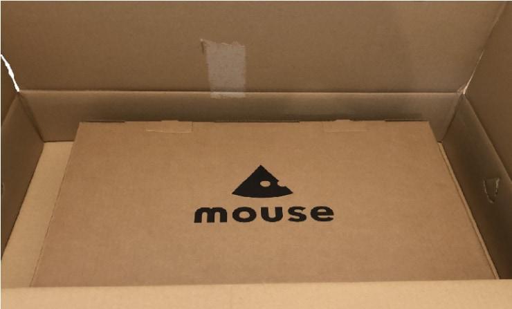 【アマゾン】mouse段ボール